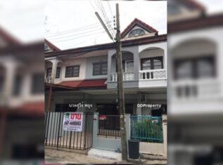 ขาย ทาวน์เฮ้าส์ 2 ชั้น หมู่บ้าน ซื่อตรง ถนนรัตนาธิเบศร์ ใกล้รถไฟฟ้า MRT ไทรม้า
